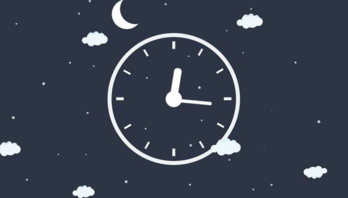 睡眠時間を見直す